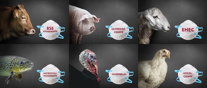 Collage Pandemien