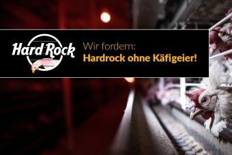 Kampagne: Hardrock ohne Käfigeier