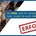 Masthuhn-Petition an IKEA