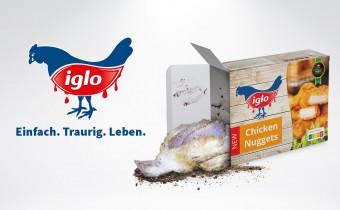 Iglo & Co.: Europaweite Masthuhn-Kampagne