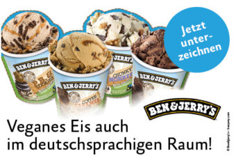 Vegan-Appell an Ben & Jerry's