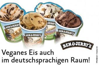 Ben & Jerry's: Veganes Eis auch in Deutschland