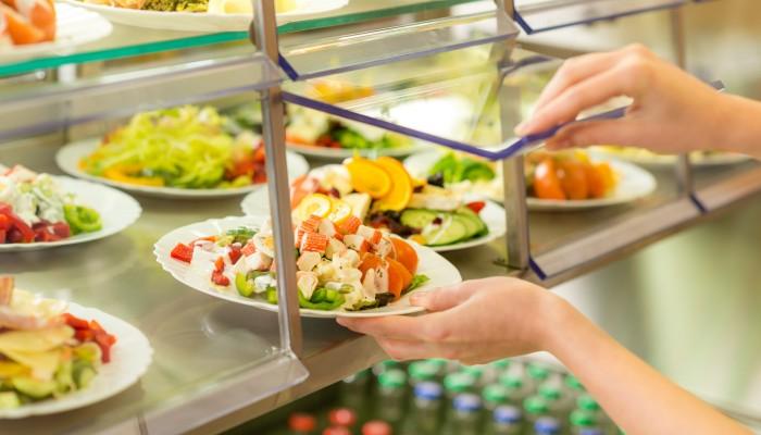 Salatbar Mensa