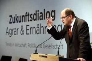 Minister Christian Schmidt beim Zukunftsdialog