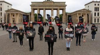 Bundesweit 23 Aktionen gegen Käfighaltung