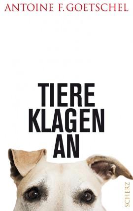 "Buchcover ""Tiere klagen an"""