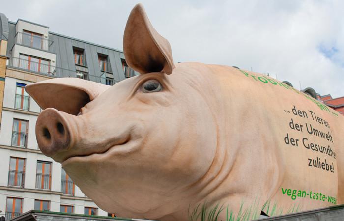 Grunzmobil zur Nutztierhaltung @ Luisenplatz