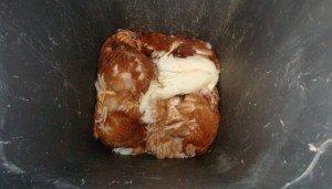 Tote Hühner in einer Tonne