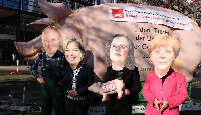 Die SPD lässt sich vor den Karren spannen