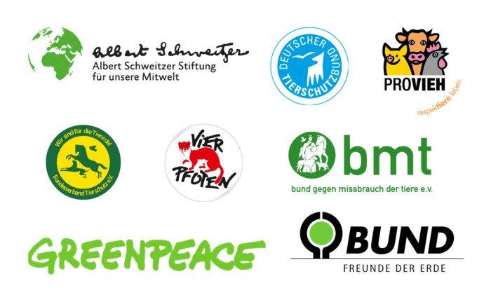 8 Organisationen gegen Initiative Tierwohl als eigene Kennzeichnungsstufe für Fleisch