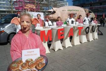 Vegane Mettbrötchen von Kühen&Schweinen