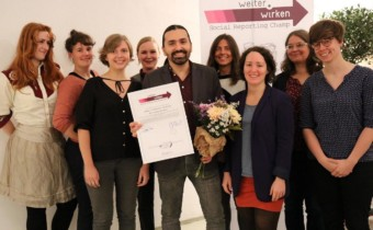 Albert Schweitzer Stiftung erhält Preis