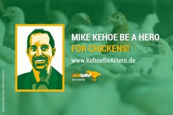 Subway-Präsident kann Held für Hühner werden