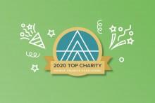 Wir sind Top Charity 2020
