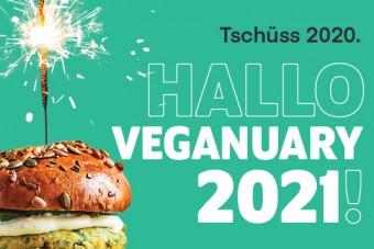 Probieren Sie's im neuen Jahr vegan