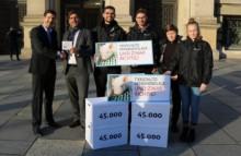 45.000 Stimmen für ein Tierschutz-Klagerecht