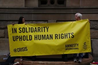 Amnesty International verpflegt vegan
