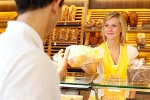 Bäckerei ohne Käfigeier