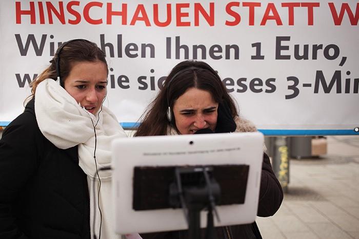 Reaktionen auf unsere Videos in Berlin