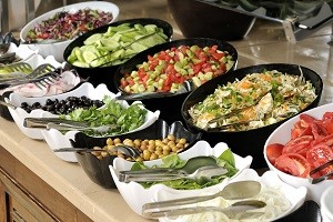 Catering ohne Käfigeier