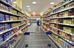 Supermarkt käfigfrei