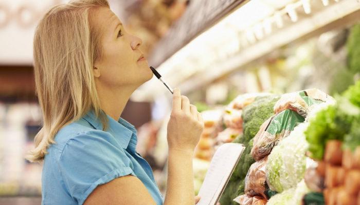 Erster veganer Einkauf