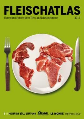 Fleischatlas Cover. Creative Commons (CC-BY-SA) Heinrich-Böll-Stiftung, BUND, Le Monde diplomatique