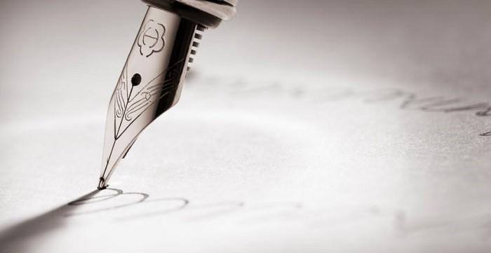 Füller Unterschrift