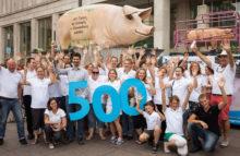 500. GrunzMobil-Einsatz auf dem Veganen Sommerfest