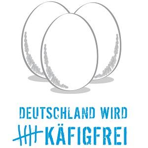 Logo der Käfigfrei-Kampagne