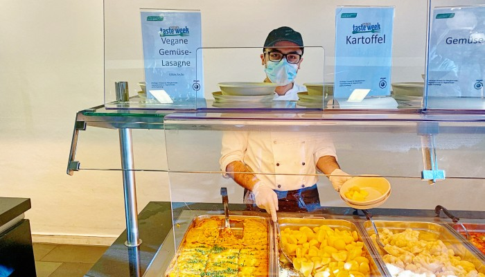 Kantine Studierendenwerk zur Vegan Taste Week