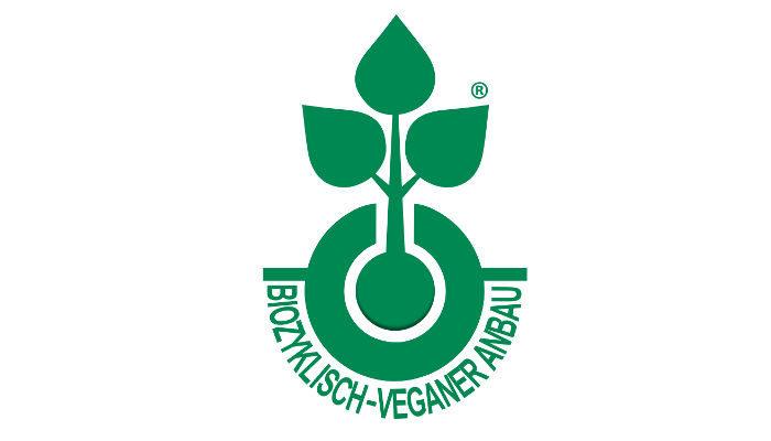 Logo biozyklisch-veganer Anbau