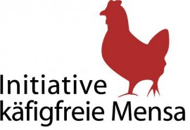 Logo der Initiative käfigfreie Mensa