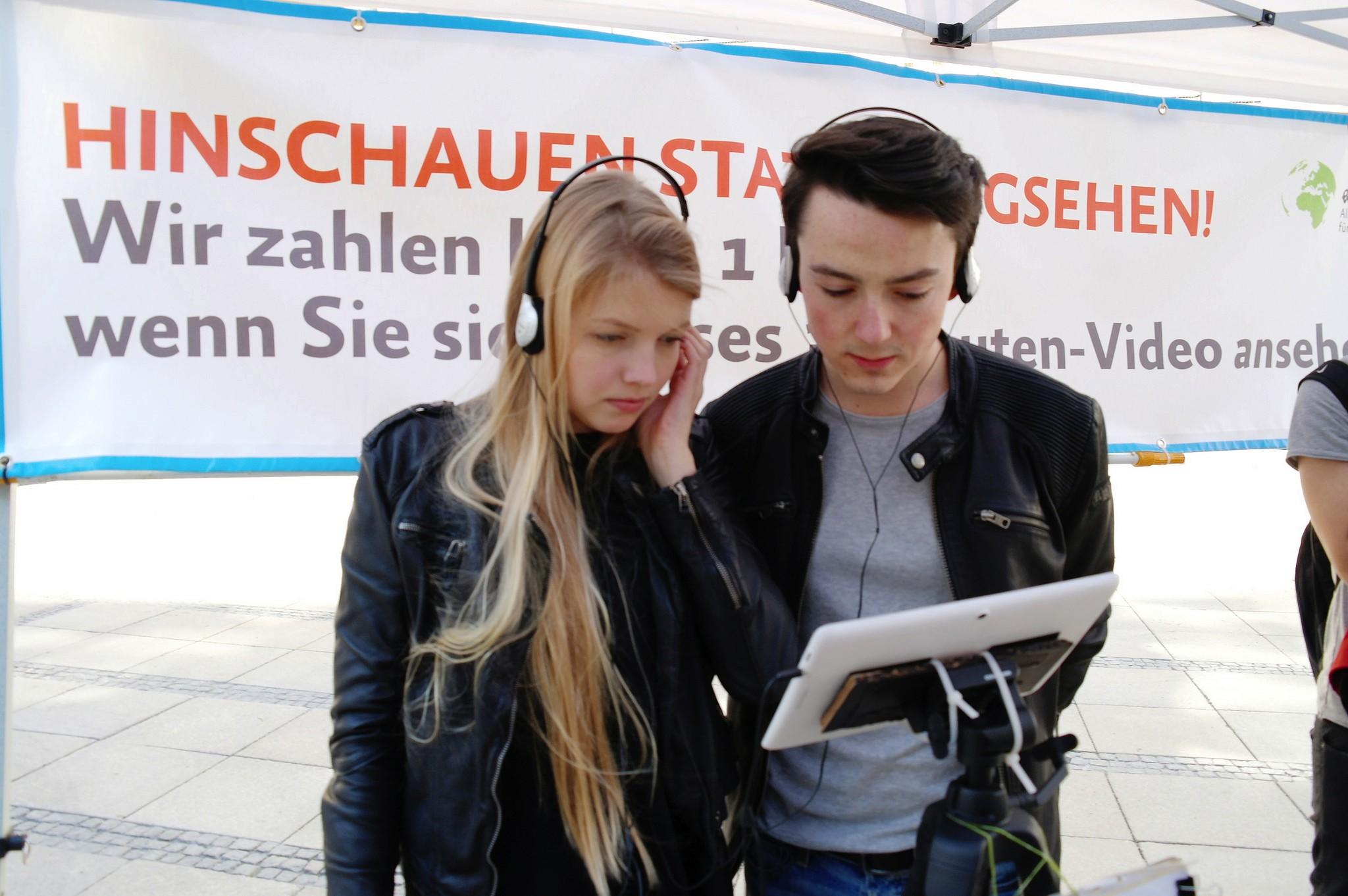 Die Schlachthof-Aktion in München