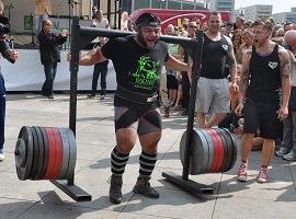 Weltrekord durch Patrik Baboumian