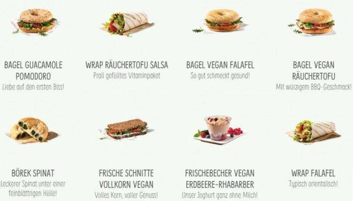 Vegane Auswahl bei BackWerk