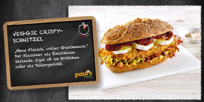 Vegan-Schnitzel von Wiesenhof