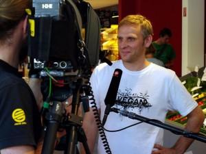 Jan Bredack im TV-Interview 2011