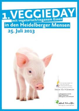 Plakat VeggieDay Heidelberg