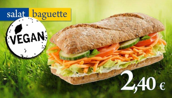 Salat-Baguette von Yormas